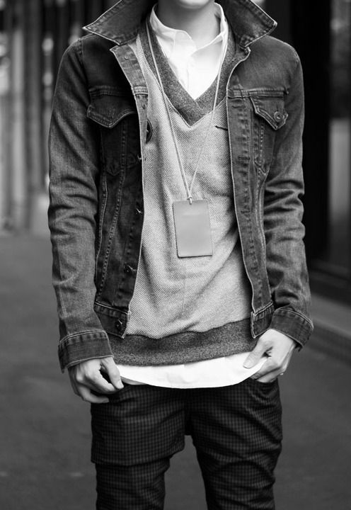 Men's Fashion & Style / Black and White Photography