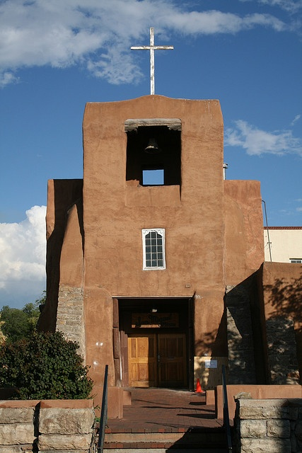 San Miguel chapel, the oldest church in America, Santa Fe, New Mexico