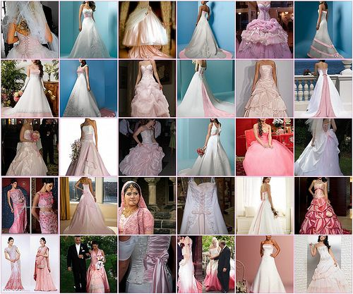 Pink Wedding Dresses www.weddingsonlin...