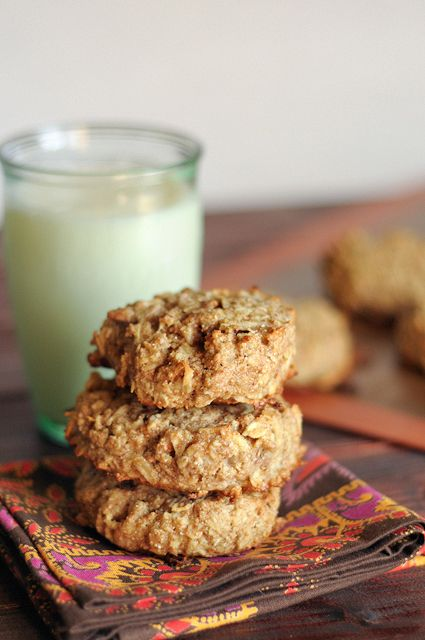 Apple Pecan Breakfast Cookies