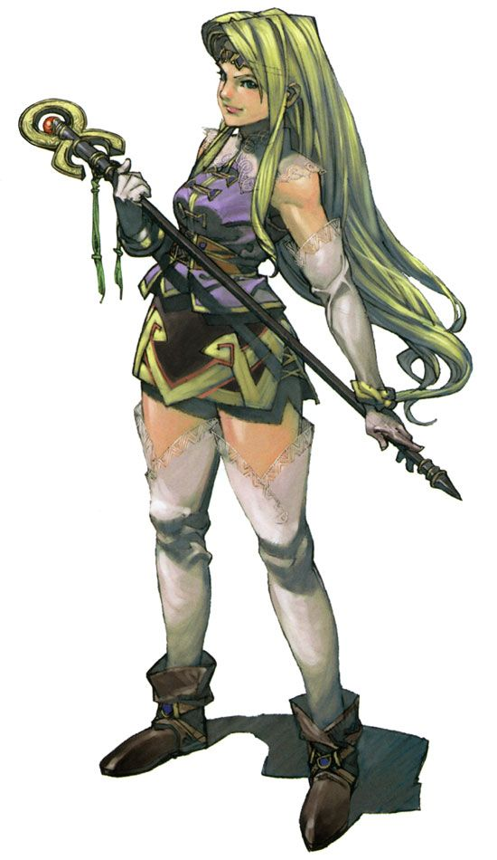 Valkyrie Profile Character Art