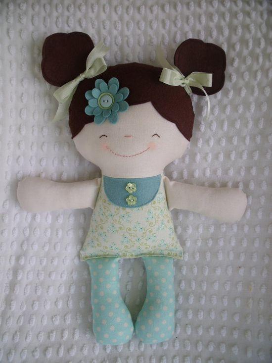 A sweet cloth doll