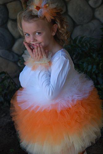 Candy Corn Princess Costume. CUTE
