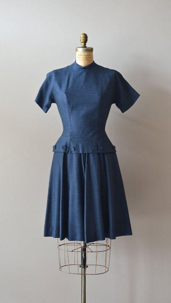 vintage 1950s dress