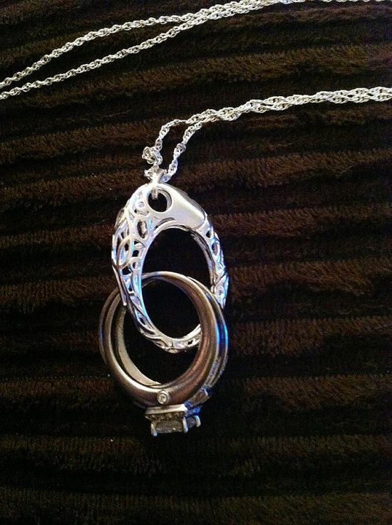 pendant for when you take off your wedding ring... i bought one and it's a life saver