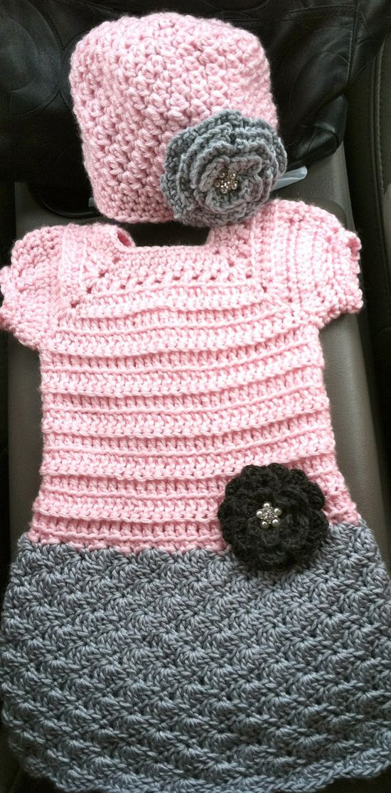 POPULAR newborn infant baby girl clothes by lollipoploopscrochet, $50.00
