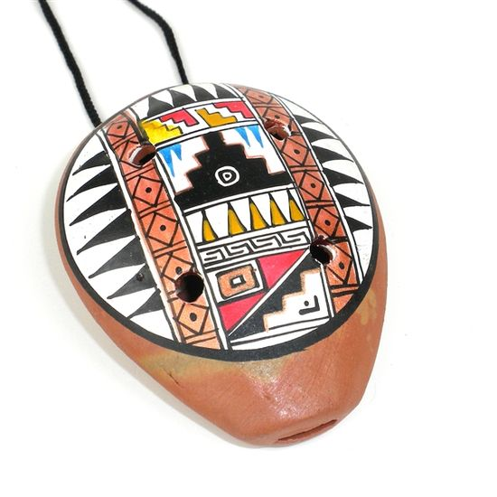GlobeIn: #Handmade #Musical #Instruments from Around the World Traditional #Ceramic #Ocarina #Necklace (#Peru)