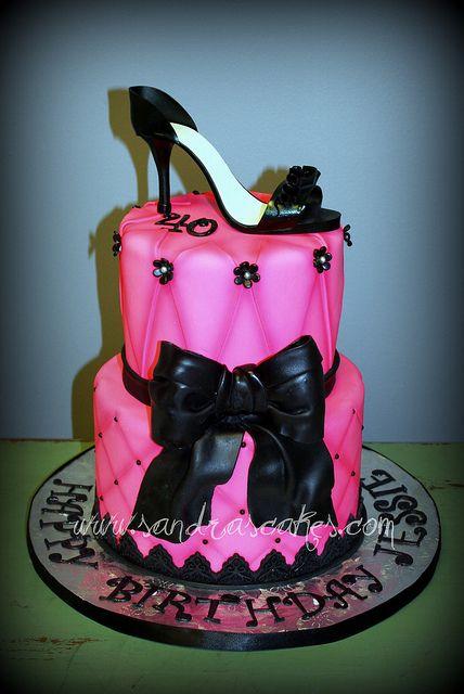 Shoe Cake ~ love!