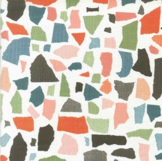 LULU DK colors rose fabric