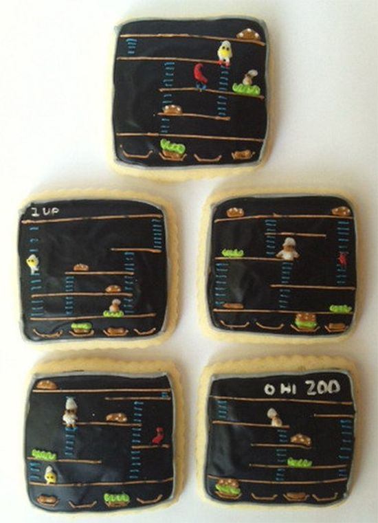 Video Game Cookies: From Pixels to Pastries