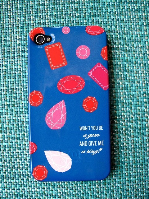 Custom Designed iPhone 4  4S Case  Won't by PencilShavingsStudio, $39.99