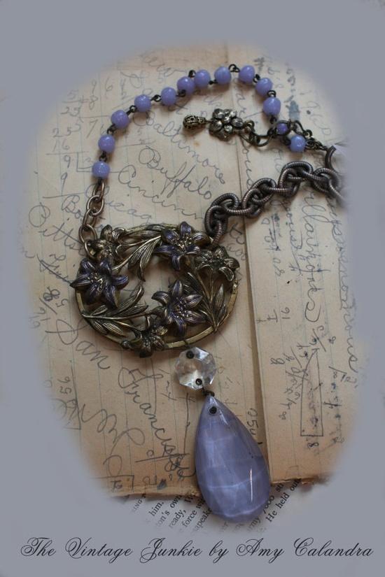 Repurposed Vintage Jewelry Upcycled