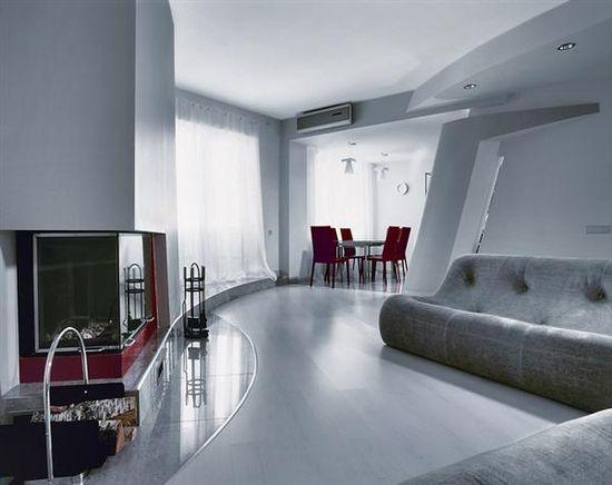 Futuristic Living Room New Architecture Ideas Minimalist Go Elegant ...