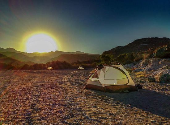 Camping in the Sea of Cortez in Mexico #travel #photos