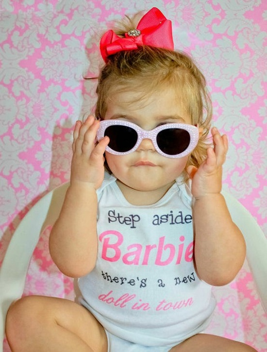 #Adorable #Barbie #Quote #Baby #Girls #Outfit