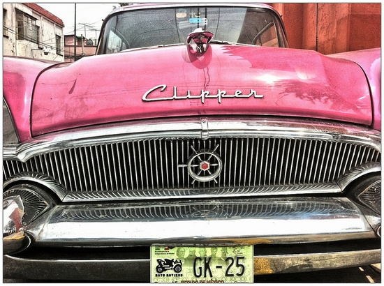 pink car...clipper