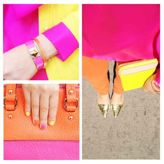 Bright colors from Kate Spade.