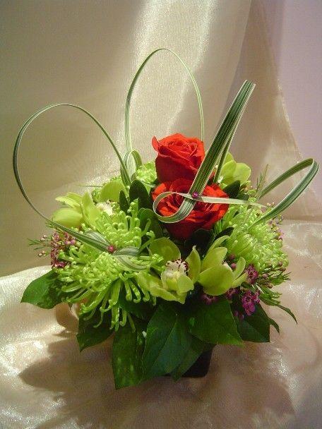 A flower arrangement called Insatiable