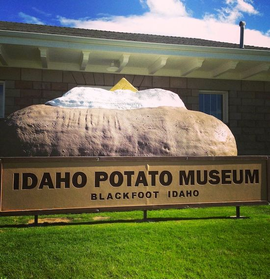 DAY ONE: IDAHO POTATO HARVEST TOUR and Roasted Poblano Roasted Idaho Yukon Gold Potato Soup Recipe