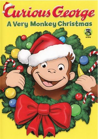Curious George ~ A Very Monkey Christmas DVD Sale: $4.99!