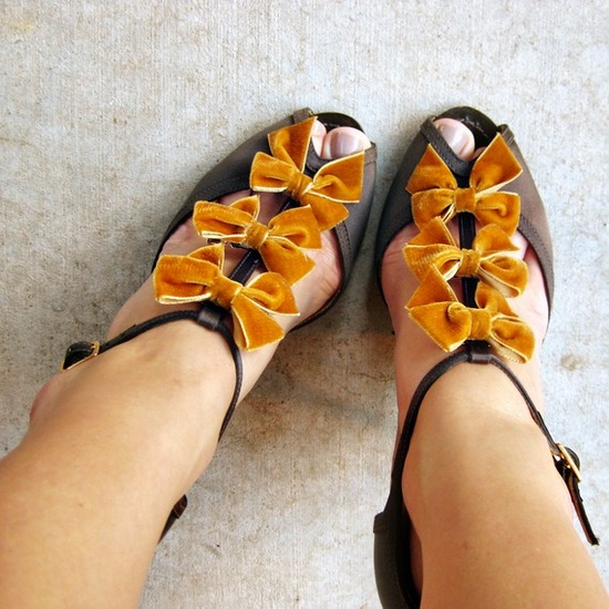 shoe clips. i was telling cait about them. there's a million websites that sell them, here's an example.