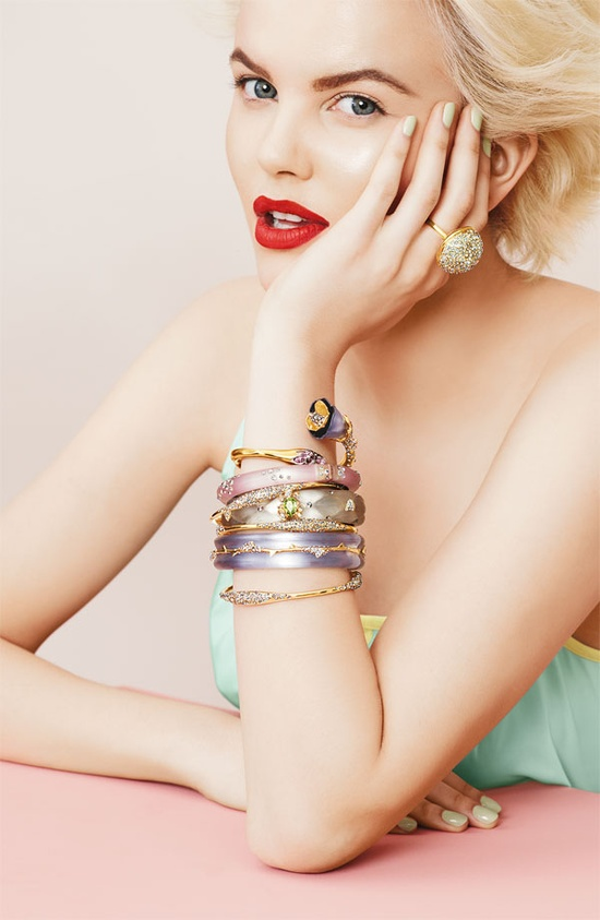 Alexis Bittar, nordstrom. like the bangles ?