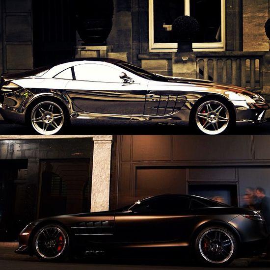 Chromed or Matte Mercedes SLR?