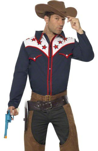 Smiffys Mens Rodeo Cowboy Western Adult Halloween « Clothing Impulse