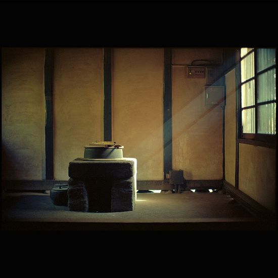 Japanese hearth: photo by alleys, via Flickr