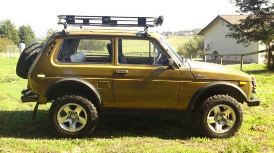 dream car -- Lada Niva