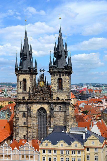 Prague!  Love it here;)