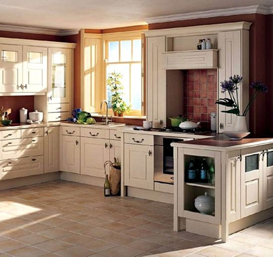 English Style Kitchen Decoration Ideas