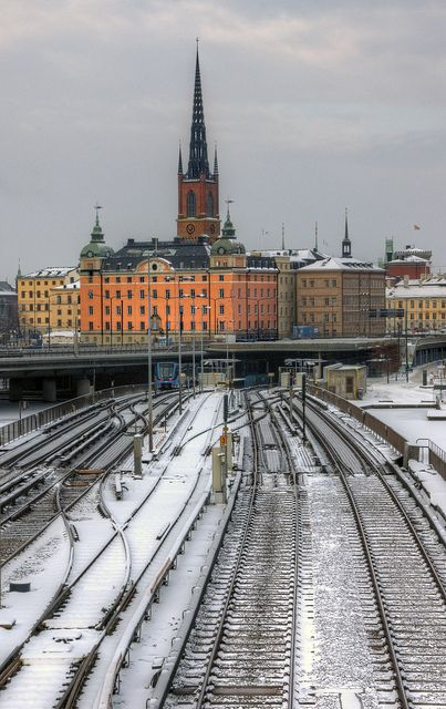 Stockholm in winter, Sweden