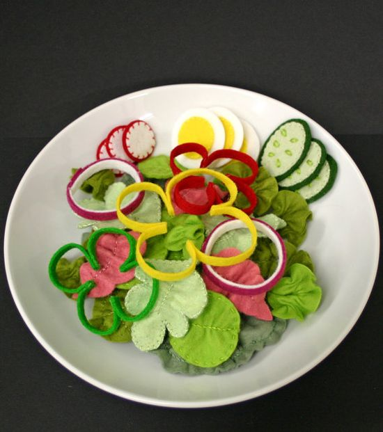 Felt Salad
