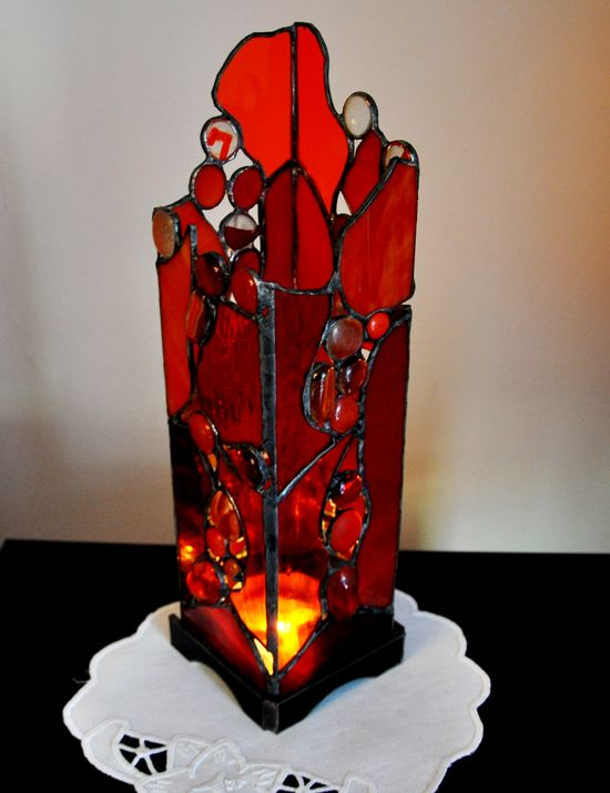 CANDLE  BOX RED Gale