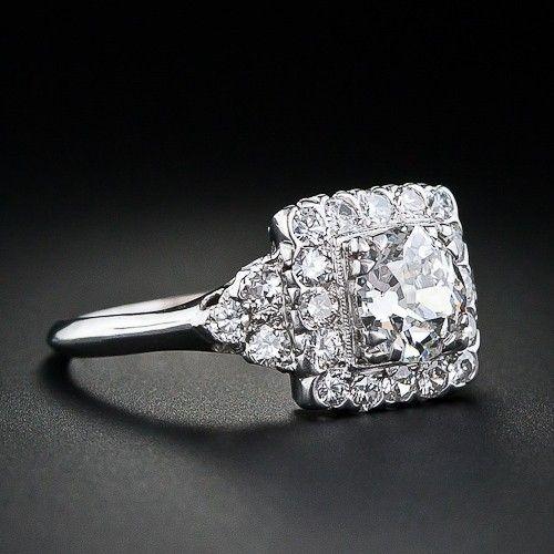 1930s vintage engagement ring marinagrace