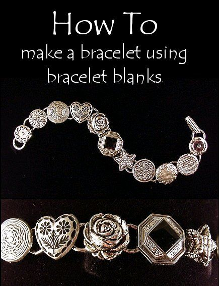 DIY: How To Make A Bracelet Using Bracelet Blanks