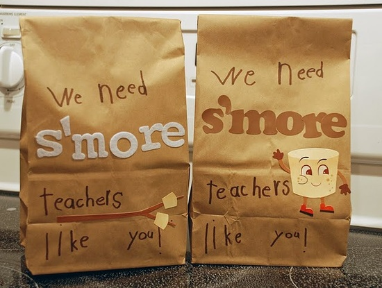 We need S'more teachers like you gift idea