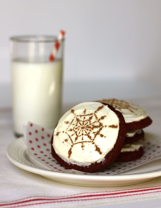 red velvet cookies- i love this design!