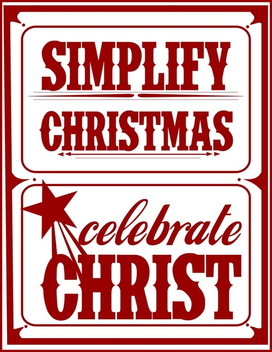free christmas printable...what it's all about!
