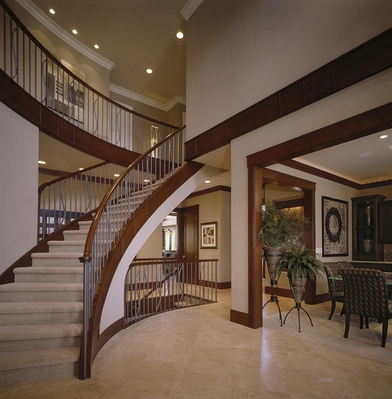 ? Staircase in Modern Home