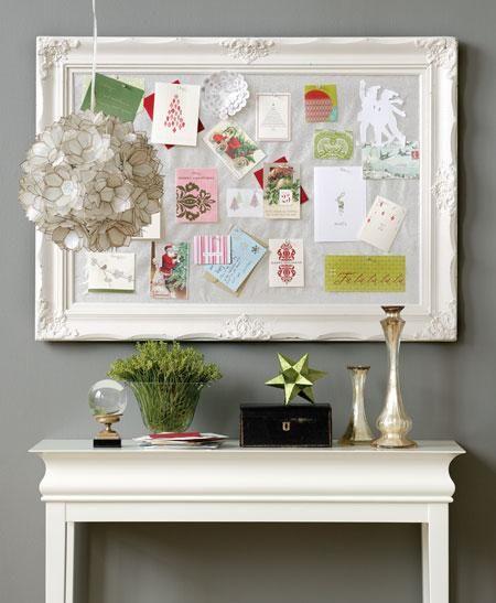 Christmas Card Board