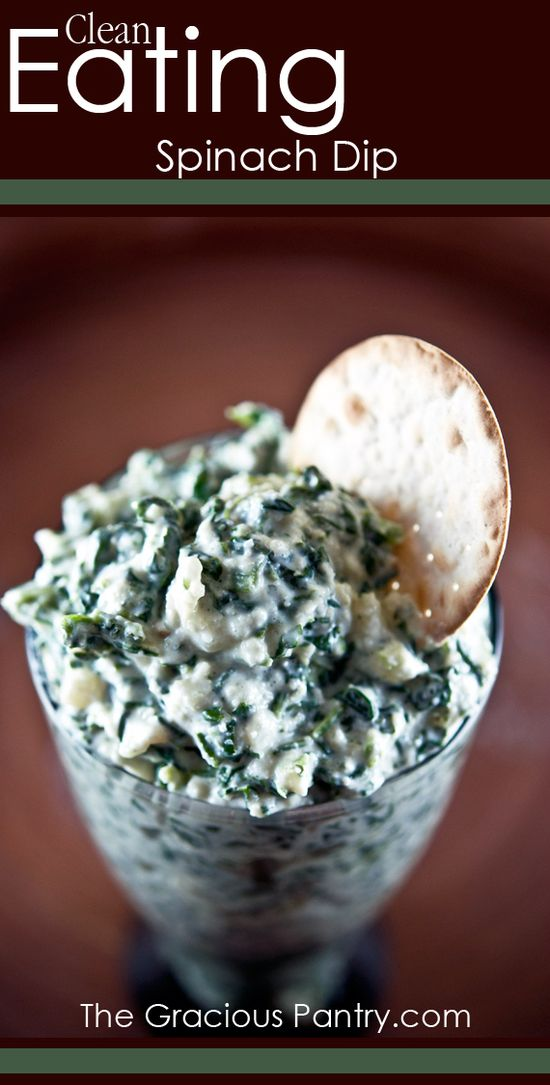 Clean Eating Spinach Dip  #cleaneating #cleaneatingrecipes #july4th #independenceday #healthyrecipes #recipes