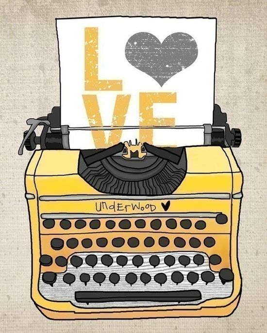Another great typewriter print.