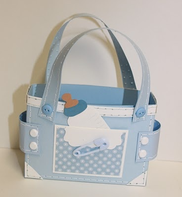 Diaper Bag to fill with goodies - bjl