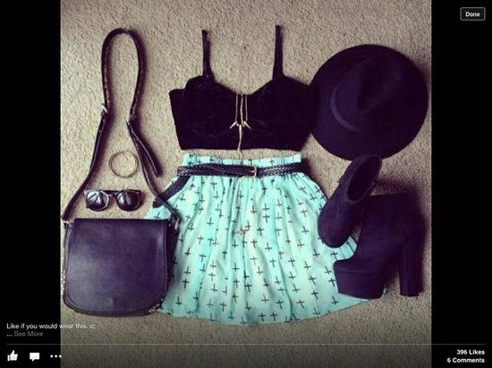 Cute summer outfit :)