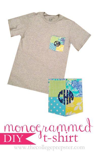 Monogrammed T-Shirt