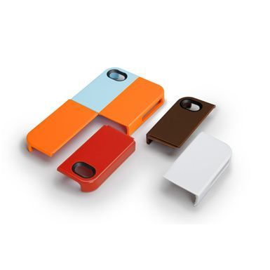 iPhone 4 Quartet Case by Case Mate: Piece together your favorite combo with these interlocking pieces. Each set contains 6 modular pieces. Chose between Sensuous Silk, Rustic Tweed and Vintage Flannel. $34.99