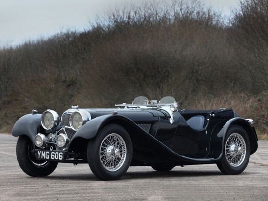 1937 Jaguar SS100 - 2 1/2 Litre Roadster, one of the most sought after pre-war sports #sport cars #ferrari vs lamborghini #luxury sports cars #customized cars