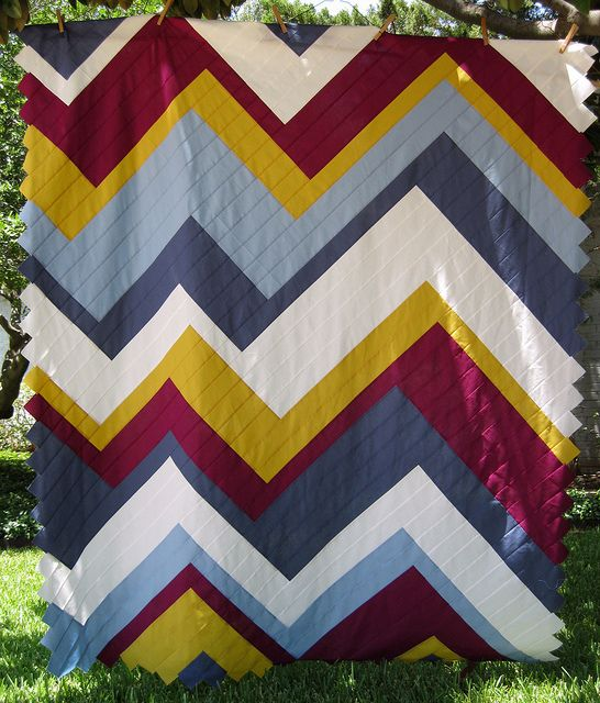 WOW! Ascend Quilt Top by BGMom1, via Flickr